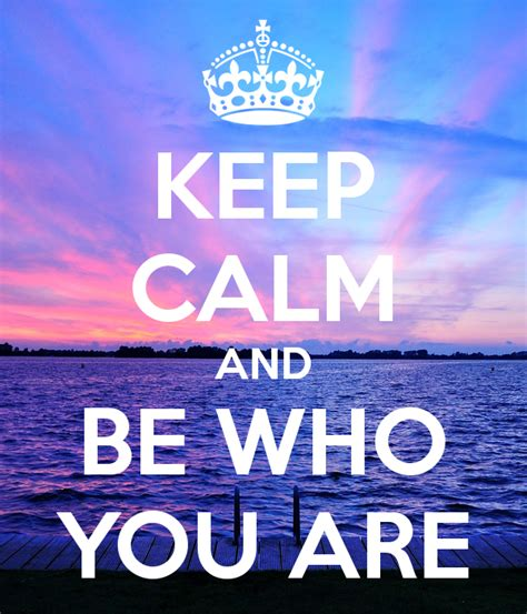 Are You A Keeper by Keep Calm And Be Who You Are Poster Ella Keep Calm O Matic