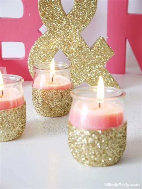 Baby Pinkis 2 Pot diy bougies scintillantes avec des pots de yaourt f 234 tes printables