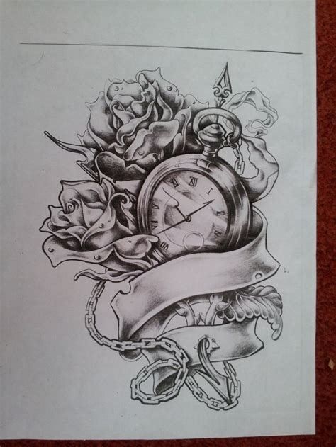 pocket watch and rose tattoo design best 25 pocket drawing ideas on pocket