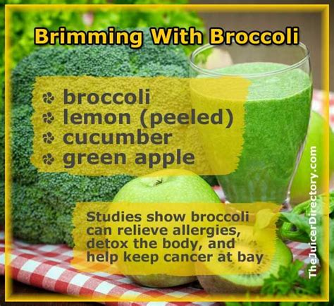 Broccoli Smoothie Detox by 33 Best Broccoli Juice Recipes Images On
