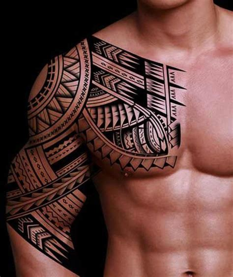 tribal chest and shoulder tattoos the 25 best ideas about mens shoulder on