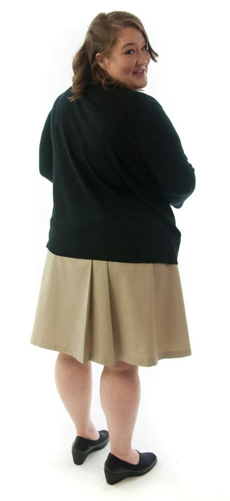 plus size school dressing for his school skirt womens