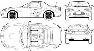 car blueprints mazda