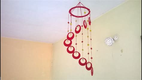 wall hanging design diy wind chime wall hanging using woolen room