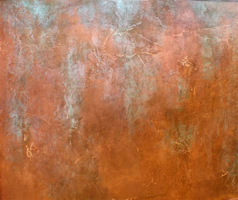 copper walls organic holden art painting