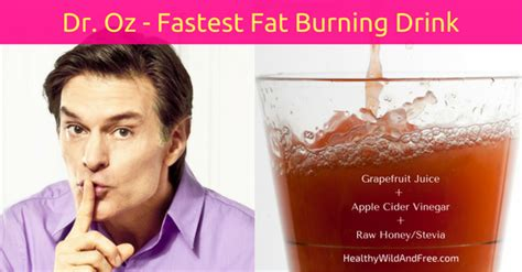 Dr Oz Detox Drink Apple Cider Vinegar by Dr Oz S Swimsuit Slim Drink Breaks Faster