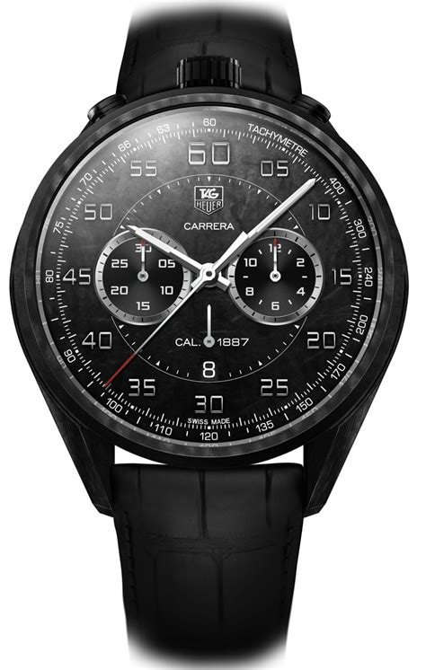 Tag Carbon All Black tag heuer carbon 1887 concept the home of tag