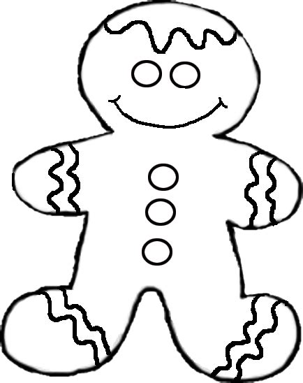 coloring pages of gingerbread men and ginger bread houses
