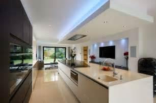 Contemporary Island Kitchen contemporary linear kitchen island transform architects