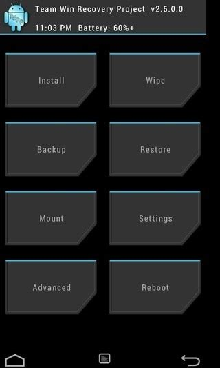boot recovery apk what is twrp recovery how to install use it on android guide