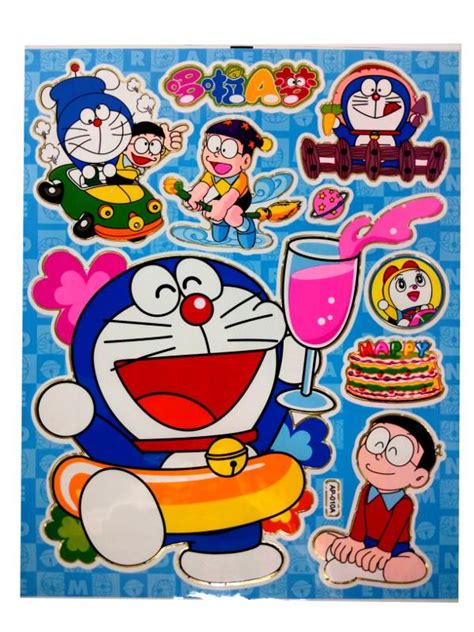 Stiker Doraemon 3 doraemon stickers x 50 end 12 11 2017 10 50 am myt