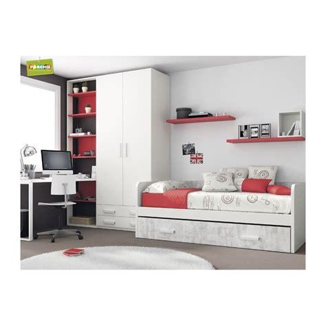 dormitorio cama nido dormitorio cama nido rojo dormitorios con cama nido