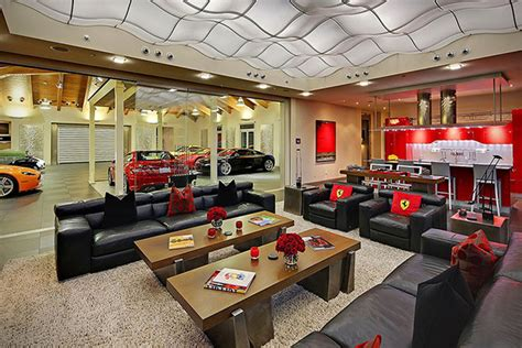 garage homes car collector s 4 million home with showroom garage