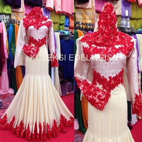 Gmc Dress Batik Kak Putih koleksi edelweiss baju kurung moden baju pengantin tunang muslimah terkini
