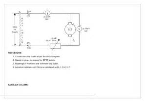 dc shunt motor wiring diagram