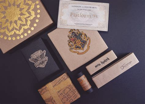 harry potter gift wrapping ideas of all you see diy harry potter themed presents