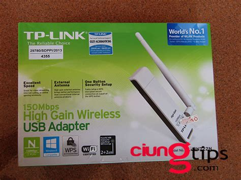 Harga Tp Link Penangkap Wifi review dan unboxing usb wifi adapter tp link tl wn722n