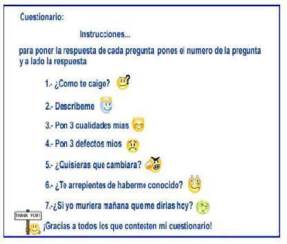 cadenas de preguntas de instagram resultado de imagen para cadenas para whatsapp de