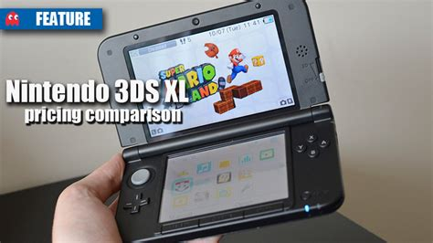 Nintendo New 3ds Xl Whitemetalic Bluered nintendo 3ds xl pricing comparison