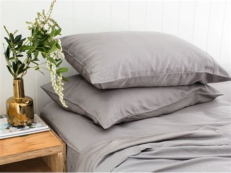 upgrade your bedding with these ultra soft bamboo sheets the king pure ultra luxe bamboo sheet set in charcoal