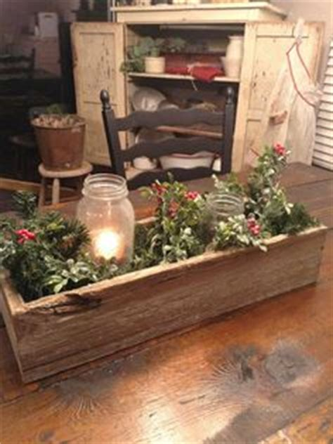 toolbox christmas centrpiece 1000 images about decorating with wood boxes on primitives primitive and
