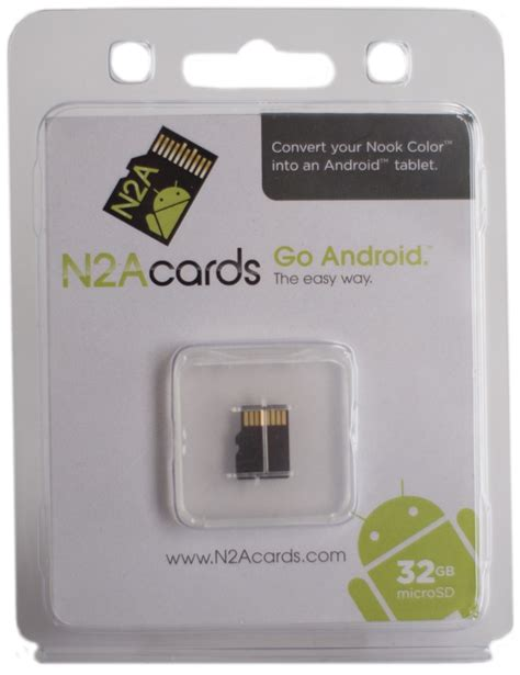 Gift Card For Nook - n2a cards 32gb microsd card nook color only 64 99 n2a products nook to