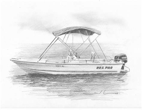 fishing boat drawing easy fishing boat drawing