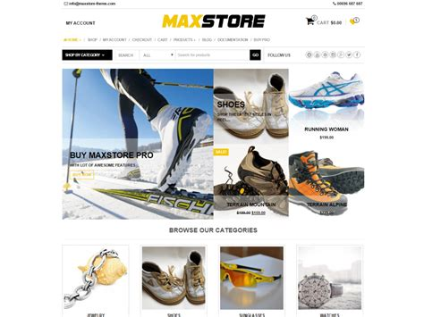 free wordpress themes retail store best free wordpress themes for business restaurants