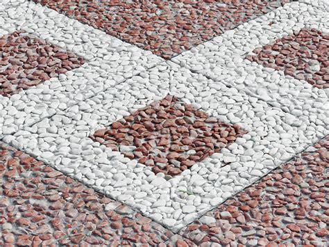 ghiaia lavata ghiaia lavata decoro quadrotto mattonelle piastrelle