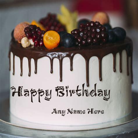 write   happy birthday fruit cake   edit