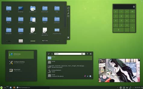 Open Suse new theme for kde opensuse 12 3 is now in