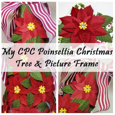 create with christy my cpc poinsettia christmas tree