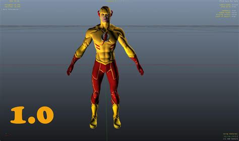 tutorial flash young 2 kid flash young justice adult gta5 mods com