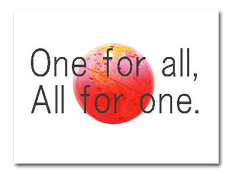 for all one for all イラストと雑貨 a yu studio