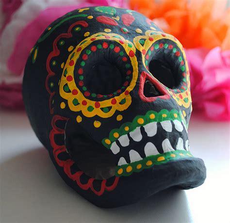 How To Make Paper Mache Skull - paper mache sugar skull flickr photo