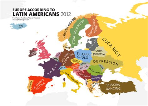 map world according to this creates the most offensive maps of stereotypes in