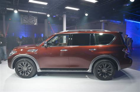 nissan armada 2017 black 2017 nissan armada first look review motor trend