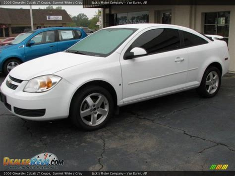 chevrolet cobalt lt coupe summit white gray photo