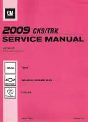 car repair manual download 2009 chevrolet avalanche parental controls 2009 chevrolet avalanche suburban tahoe gmc yukon cadillac escalade factory service manual
