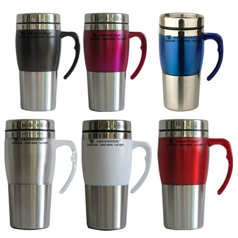 types of mugs stainless steel metal type and eco friendly feature