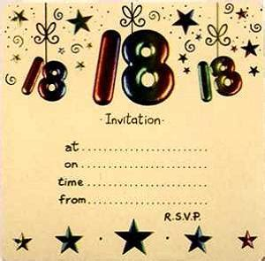 invitation sms for 18th birthday 18th birthday invitations 365greetings
