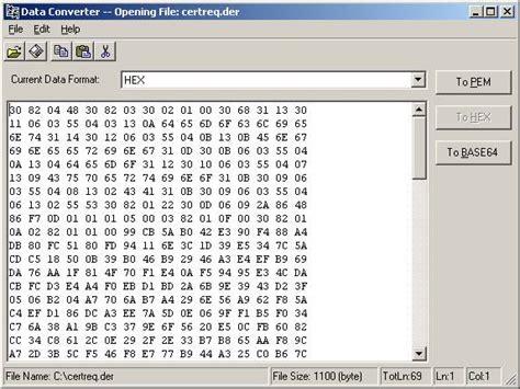 base64 format converter asn 1 editor codeproject