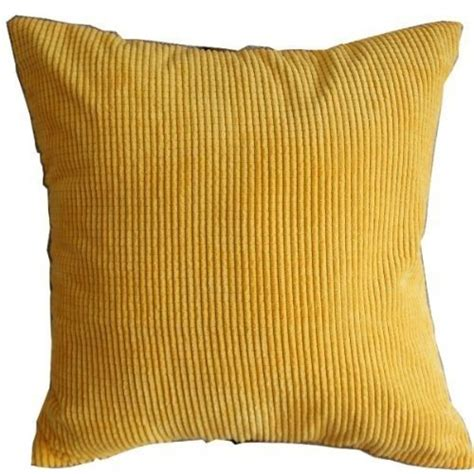 throw pillow slipcovers 1 x solid yellow corn kernels pattern polyester throw