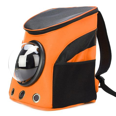 Pet Cargo Carrier Travel Bag Astronaut Space Capsule Basic Model Green other breathable astronaut pet cat puppy carrier