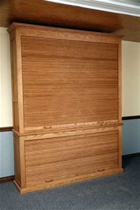 Roll Top Cabinet Door Custom Gun Cabinets And Gunsafes Specialty Designs