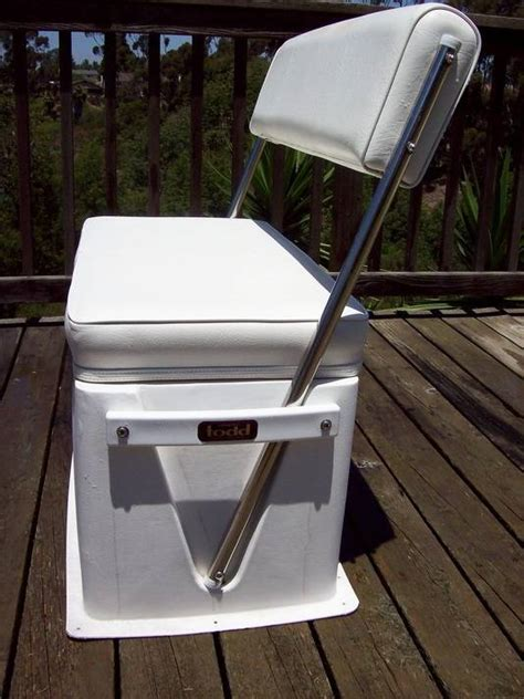 todd boat cooler seats todd swingback seat 200 00 bloodydecks