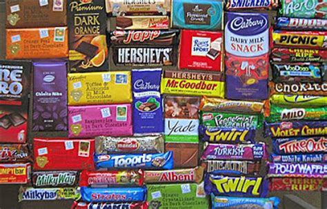 top 50 candy bars tracy reifkind s training food and thought one kind of
