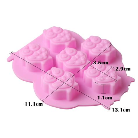 Chocolate Mold 3d silicone 3d chocolate soap mold cake baking mould