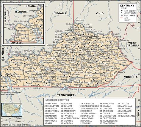 Free Records Kentucky Historical Facts Of Kentucky Counties