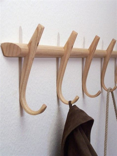 coat hooks wooden coat hooks steambent hook rack ash made in